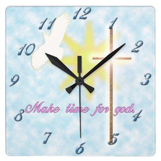 christian dove clock