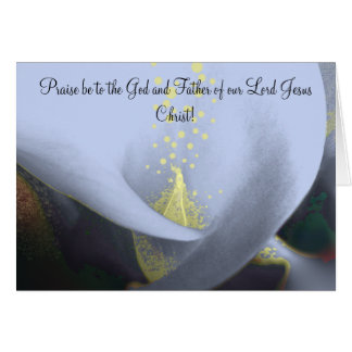 Christian Easter Card Hope In His Resurrection