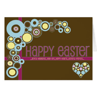 Christian Easter card ~ Love 'n' Circles