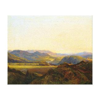Christian Ernst Morgenstern From Hardanger Canvas Print