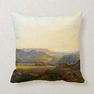 Christian Ernst Morgenstern From Hardanger Throw Pillow