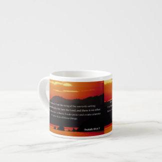 Christian Espresso Cup