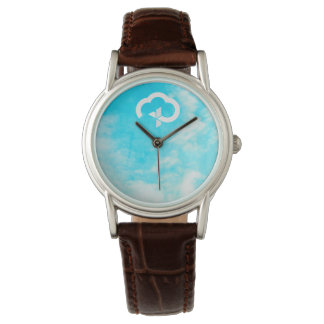 Christian Eternal Life Cross & Cloud Watch