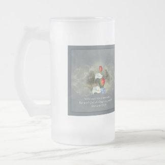 Christian Faith Art ~ Matthew 19:26 Mugs