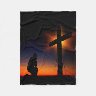 Christian Faith Fleece Blanket