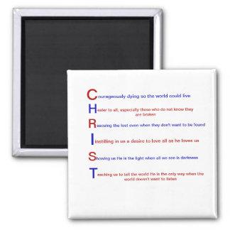 Christian Faith Magnet