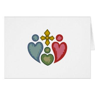 Christian Family Card