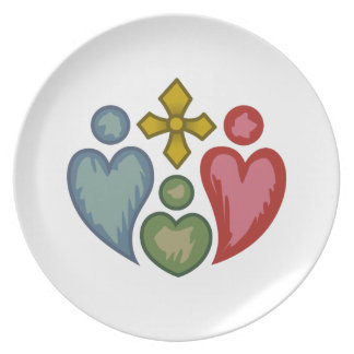 Christian Family Party Plates