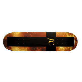 Christian Fire JC Cross Custom Skateboard