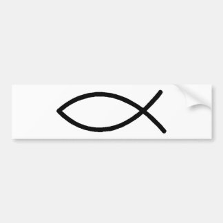 Christian Fish Bumper Sticker