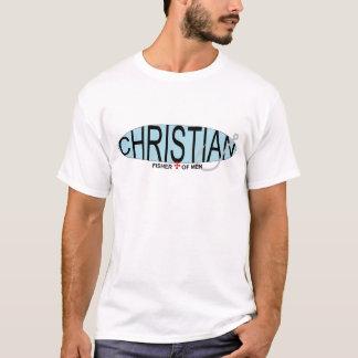 Christian Fisher of Men T-Shirt, Solid T-Shirt