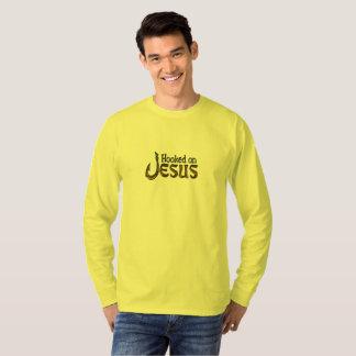 Christian Fisherman Hooked on Jesus T-Shirt