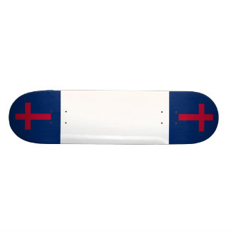 Christian Flag Board Skate Board