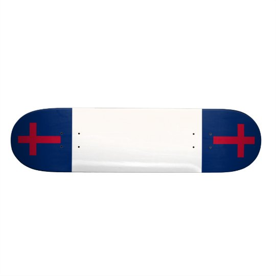 Christian Flag Board Skate Board