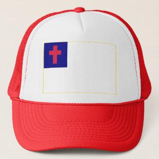 Christian Flag Trucker Hat