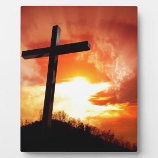 Christian gift Cross Plaque