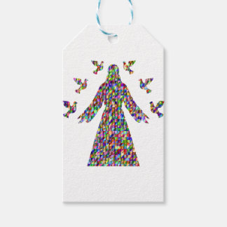 Christian gift Jesus and doves Gift Tags