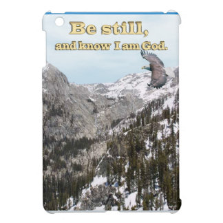 Christian gifts Be still and know I am God iPad Mini Covers