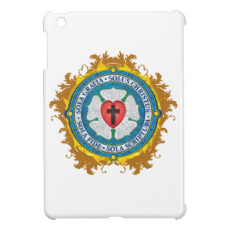"""""""CHRISTIAN GIFTS"""" Luther Rose Christian Jesus Lord iPad Mini Cases"""