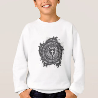 """CHRISTIAN GIFTS"" Luther Rose Christian Jesus Lord Sweatshirt"