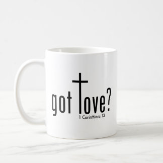 "Christian ""got love?"" Mug"