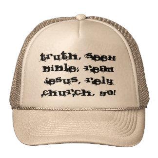 Christian hat! Be a witness! Trucker Hat