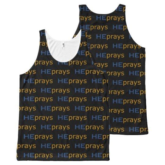 Christian HE PRAYS