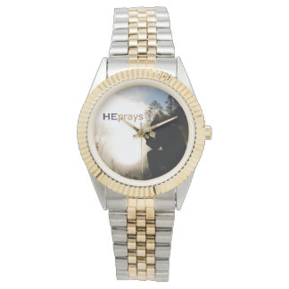 Christian HE PRAYS Wristwatch