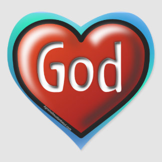 Christian Heart Sticker