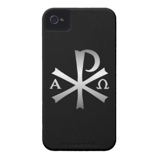Christian Icon Alpha and Omega Labarum iPhone 4 Case-Mate Case