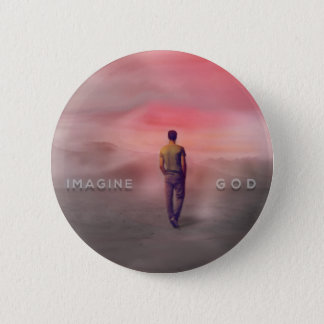 Christian Imagine God Button