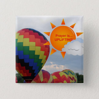 Christian Inspirational Accessories and Gifts 2 Inch Square Button
