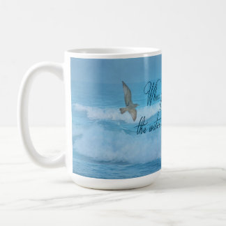 Christian Inspirational Bible Verse Mug - Is.43:2