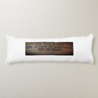 """Christian Inspirational Pillow"" Body Pillow"