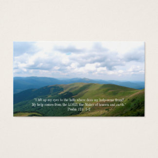 Christian   Inspirational Quote Business Card