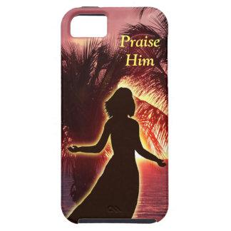 Christian iPhone 5 Cases Woman Praising God