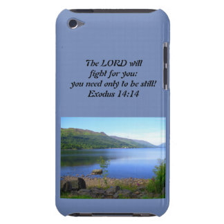 Christian Iphone or Ipad Case- Exodus 14:14 Barely There iPod Covers