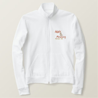 Christian Jacket: Living Sacrifice Embroidered Jacket