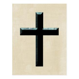 Christian Jesus Cross Postcard