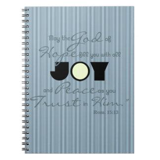 Christian Joy Notebook
