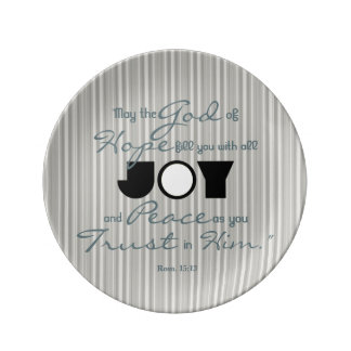 Christian Joy Plate