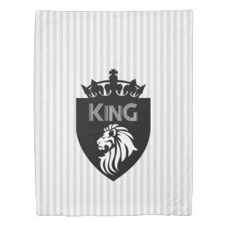 Christian King of Kings Lion Duvet Cover
