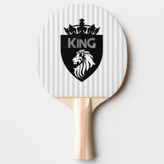 Christian King of Kings Lion Ping Pong Paddle
