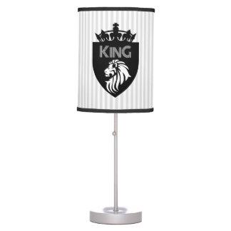 Christian King of Kings Lion Table Lamp