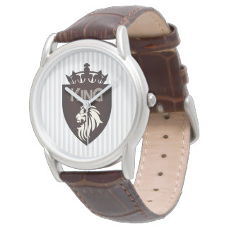 Christian King of Kings Lion Wrist Watch