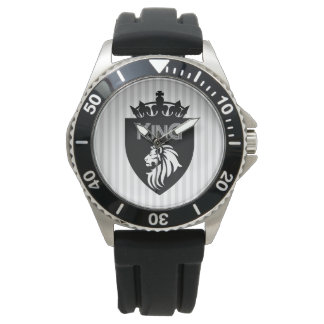 Christian King of Kings Lion Wrist Watches