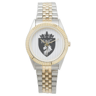 Christian King of Kings Lion Wristwatch