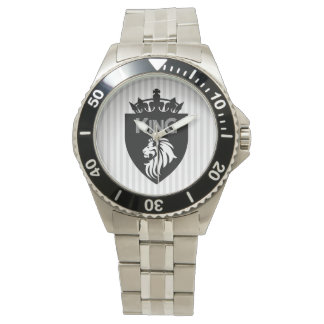 Christian King of Kings Lion Wristwatches