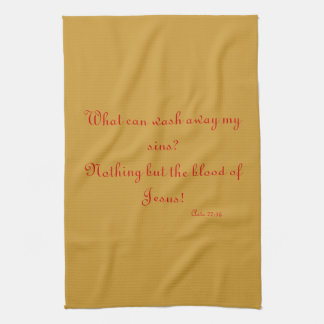 Christian Kitchen Towel