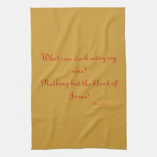 Christian Kitchen Towel